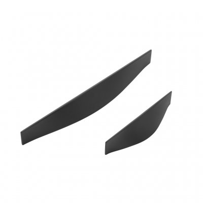 Lanzo beslag (<b>C/C-mått:</b>: 192mm, <b>Utförande:</b>: Matt svart)