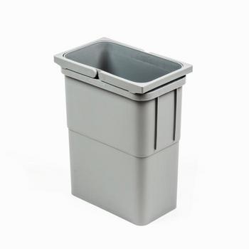 Lugo avfallshink (Färg: Ljusgrå, Storlek: 8 liter)